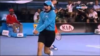 【テニス】かわいすぎるボールガールの虫退治