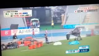 アジア大会女子マラソンでのハプニング