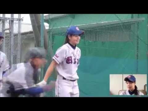 """女子高生ノッカーがカワイイと話題!プロ顔負けの""""美スイング""""が神!"""