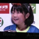20160821 加藤投手・カワイイ女の子のヒーローインタビュー(北海道日本ハムファイターズ)
