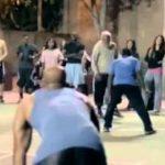 ストリートバスケ  老人