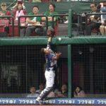 【プロ野球パ】観客びっくり、炭谷が執念のナイスキャッチ  2015/05/03 E-L