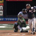 【プロ野球パ】田村、ようやくの7月初ヒットはびっくり3点打!大量7点リードに 2015/07/26 E-M