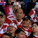 【感動】2015 ラグビー ワールドカップ 日本 × 南アメリカ ラスト10分