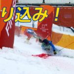 【NHK】ハプニング続出!女子スキークロス 梅原は1回戦敗退<ピョンチャン>