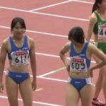 女子400Mハプニング