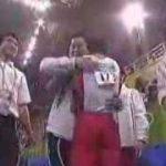 アテネオリンピック 日本体操男子団体 金メダル