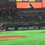 上杉あずさがヤフオクドームの始球式で100キロチャレンジ!