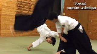 【合気道】全力の『小手返し』を特別な返し技でかえす!Aikido special counter technique