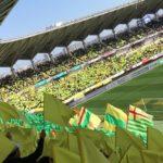 黄色と緑の旗〜アメージンググレース 20180304
