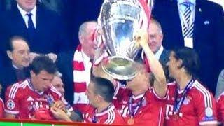 優勝後 マンジュキッチのメダルが落下するハプニング UEFAチャンピオンズリーグ決勝