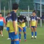 2015.07.01 西河翔吾選手誕生日練習後にハプニング!