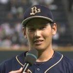 2016年9月14日 オリックス・吉田正選手ヒーローインタビュー