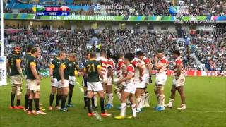 逆転勝利に感動!【Last 10min】Rugby World Cup 2015 Japan vs South Africa