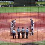高校野球◆試合開始の整列で起きたハプニング