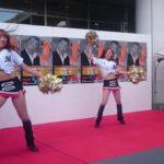 千葉ロッテ M☆Splash!!のダンスショーでのハプニング