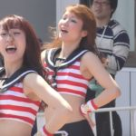 cute kawaii Japanese baseball Cheerleaders M☆Splash!!『We Love Marines』