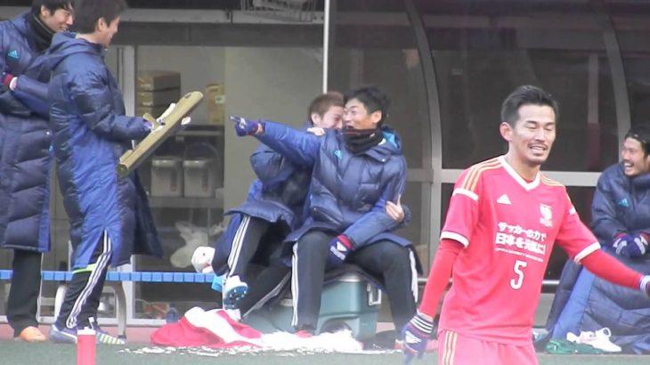 2014-12-14 チャリティマッチ(仙台) バズーカ暴発びっくり曜一朗