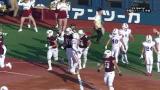 関東大学アメリカンフットボールリーグ 2018 ~早稲田 vs 中央~