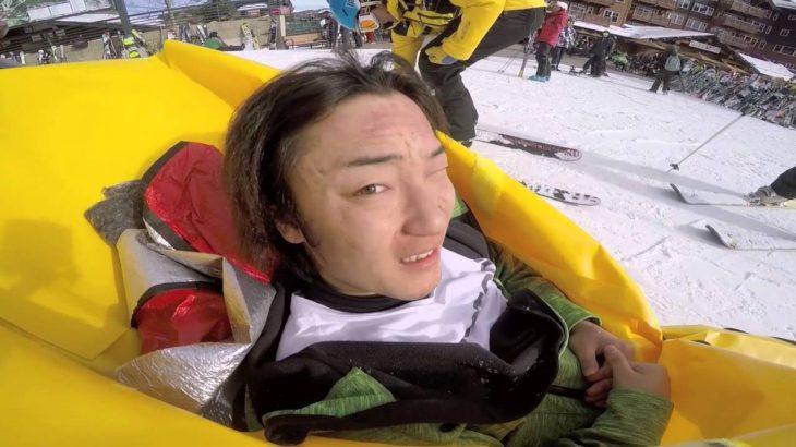 コロラド雪上トレーニングでのハプニング!