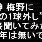 阪神 梅野が裏話 阪神タイガース的国語辞典 2018年12月25日
