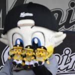 ズーちゃんかわいすぎっ♪超絶カワイイッ♥ 千葉ロッテマリーンズのマスコットキャラクター