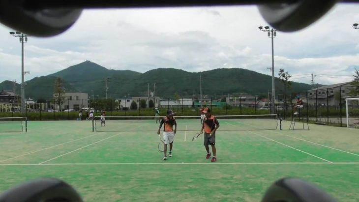 ソフトテニス 練習試合中のハプニングを探せ!!akki-