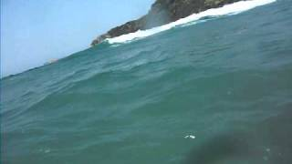 ハプニングムービー(動画スイッチオンに気づかず…)波乗り画像