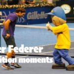 【テニス】これぞプロ…!?フェデラーのファンサービスが感動する…!【ATP】Roger Federer fan service at exhibition