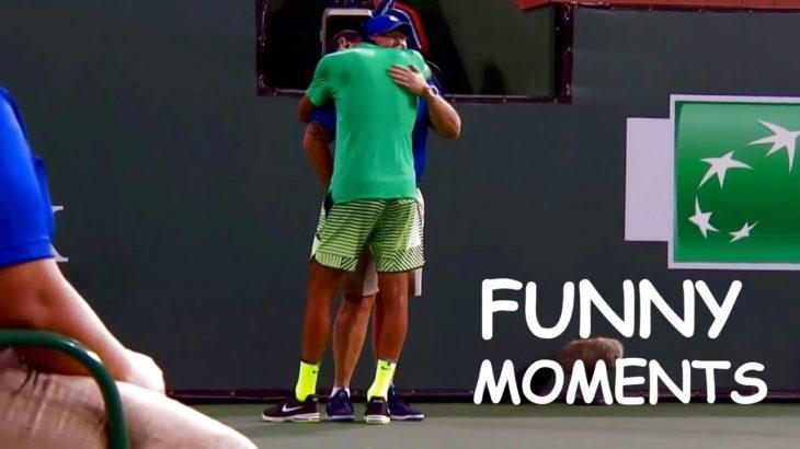 【テニス】衝撃のシーン連発…!?テニスの面白すぎるシーンを厳選!!【ATP】Best of  Funny Moments!!