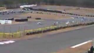 レーシングカート 2008年瑞浪選手権第一戦 MAX決勝ハプニング