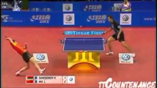 【卓球】 - 一撃必殺のスーパーショット集 - Amazing Table Tennis Shots