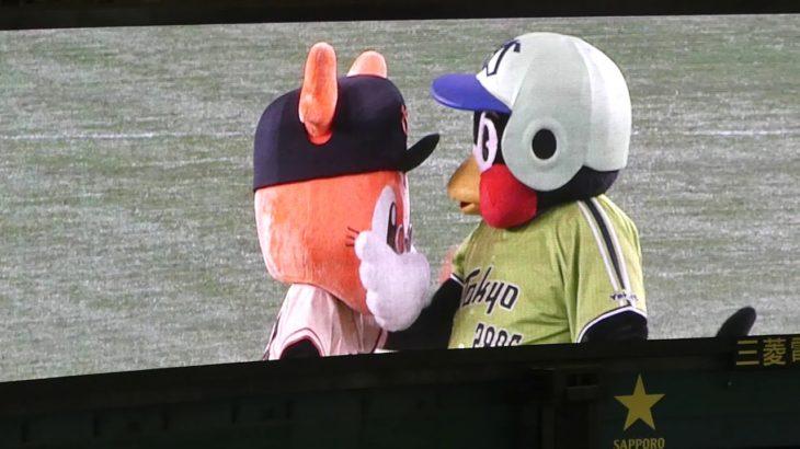東京ドームにつば九郎登場 2019/05/12